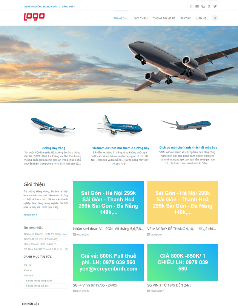 Web site về thông tin vé rẻ (Vé máy bay giá rẻ)